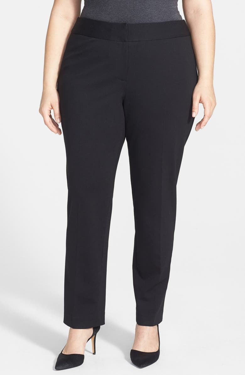 VINCE CAMUTO Stretch Trousers, Main, color, 001