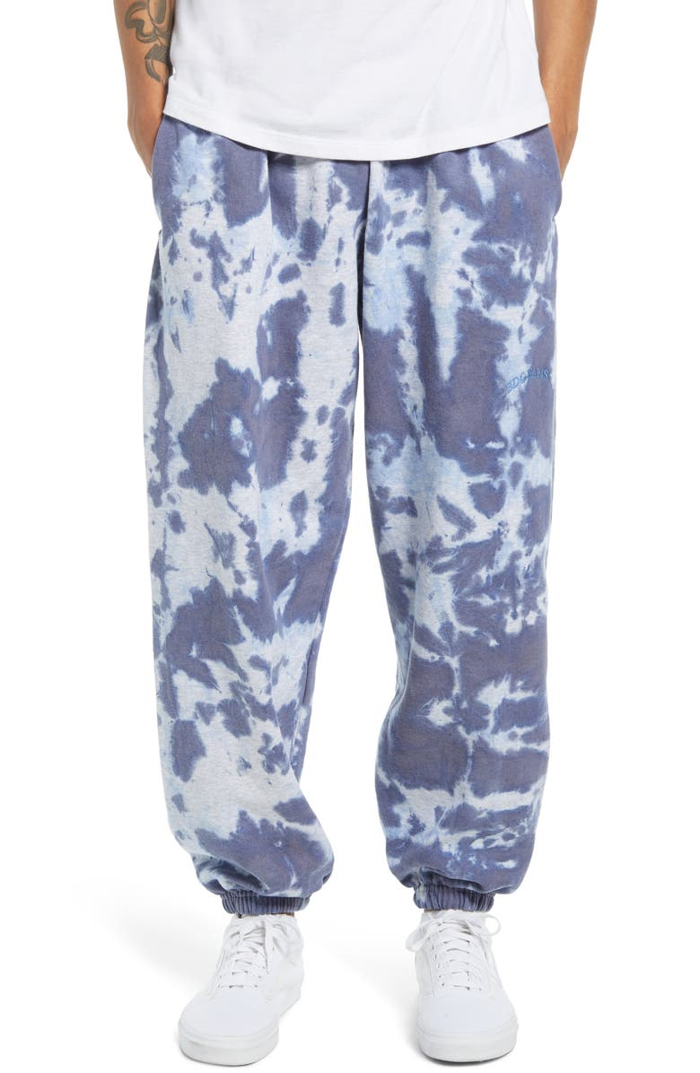 BDG URBAN OUTFITTERS Men's Joggers, Main, color, BLUE TIE DYE