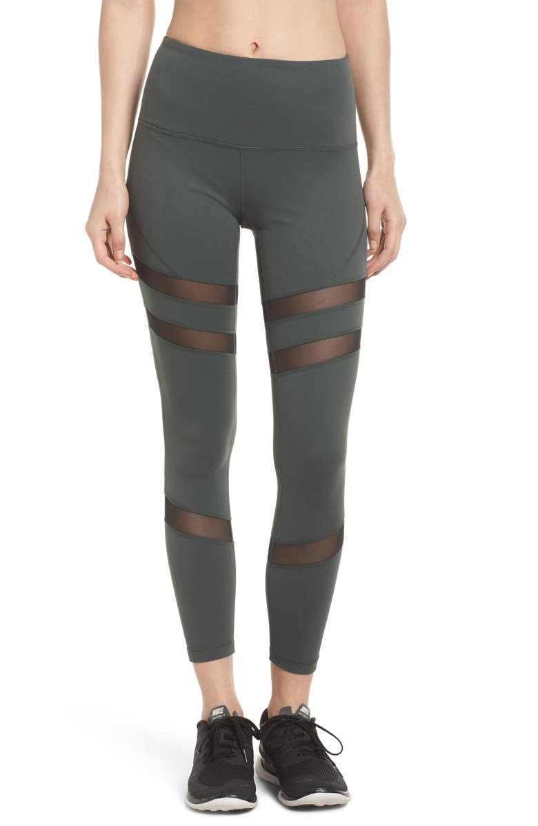 ZELLA Good Sport High Waist Midi Leggings, Main, color, 021
