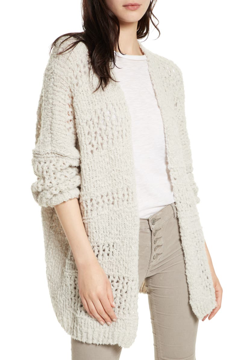FREE PEOPLE Saturday Morning Cardigan, Main, color, 903