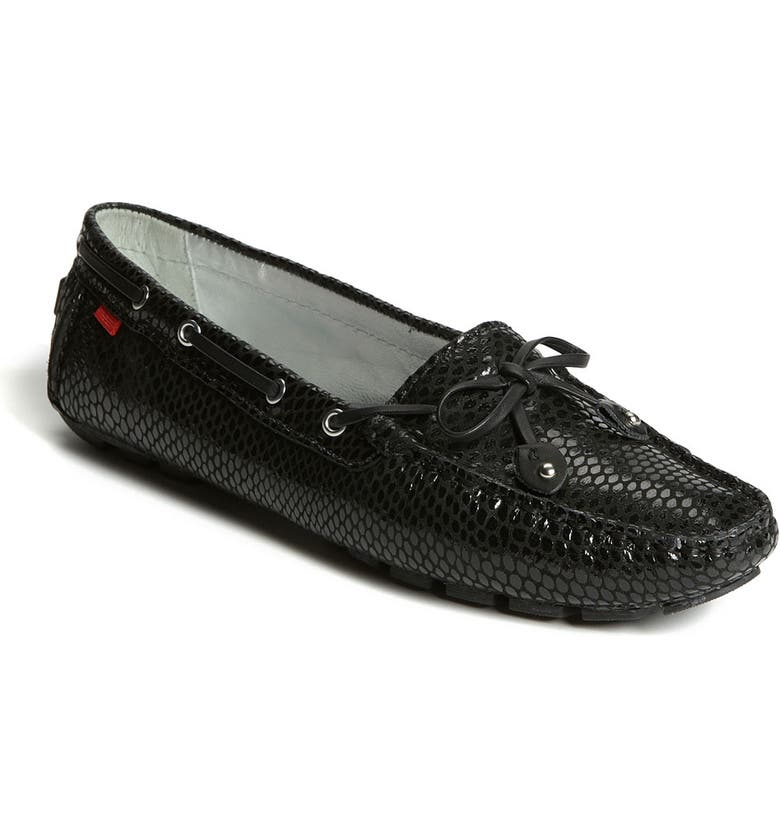 MARC JOSEPH NEW YORK 'Cypress Hill' Loafer, Main, color, BLACK SNAKE PRINT LEATHER