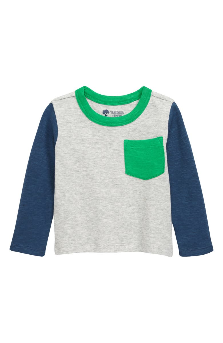 TUCKER + TATE Fording the River Colorblock T-Shirt, Main, color, 050
