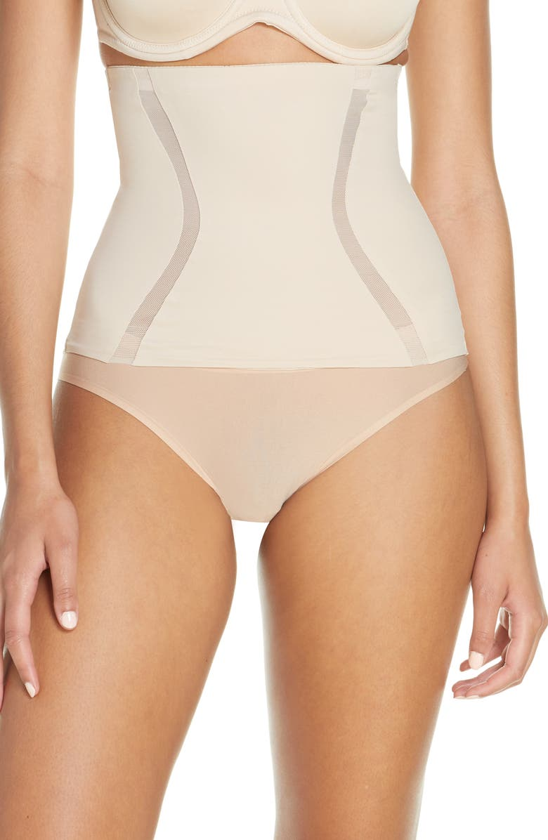 TC Middle Manager High Waist Cincher, Main, color, NUDE