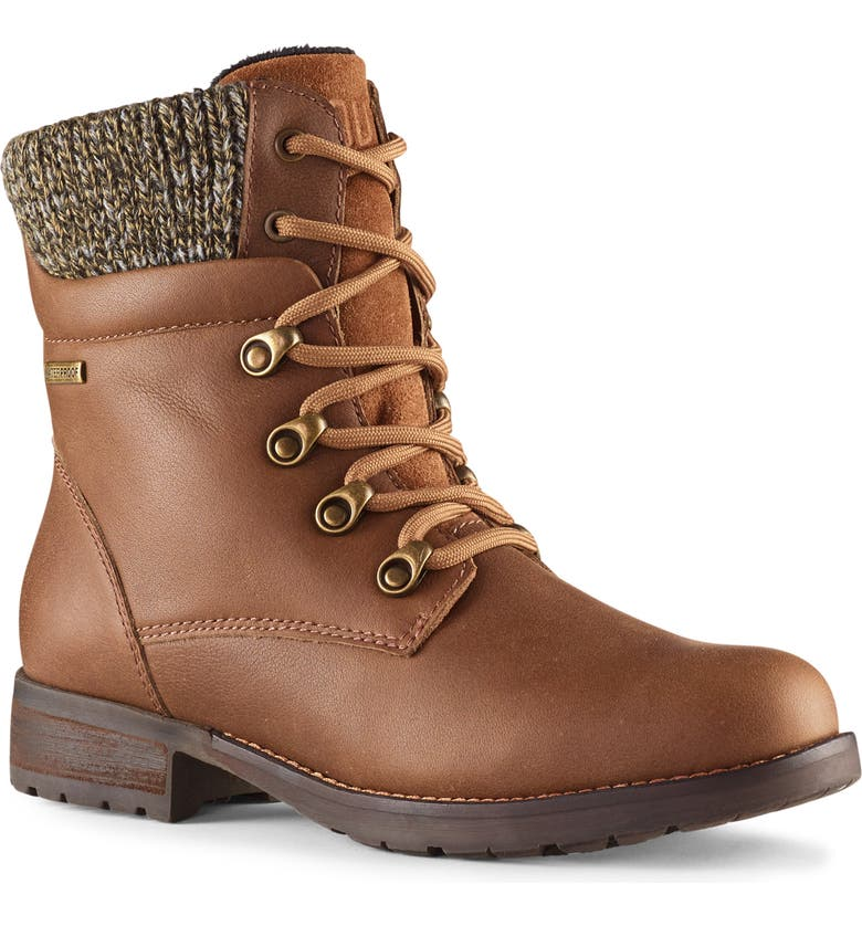 COUGAR Derry Waterproof Boot, Main, color, TAUPE LEATHER