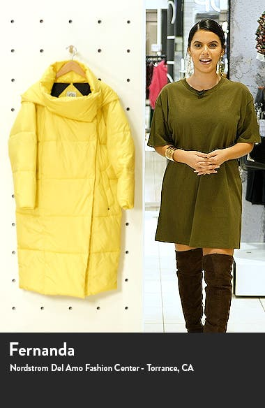 Catherina Water Resistant Hooded Puffer Coat, sales video thumbnail