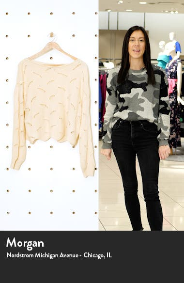 Moonglow Loose Knit Sweater, sales video thumbnail