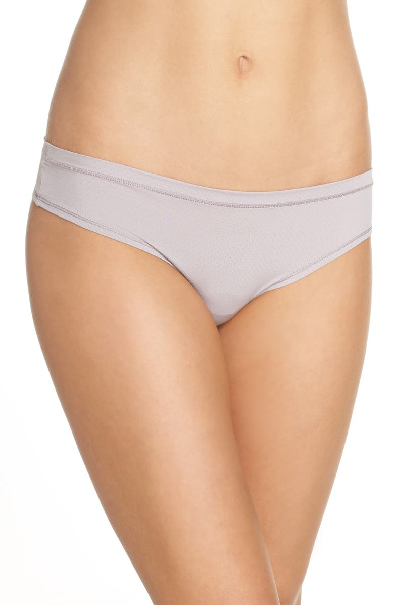 ZELLA BODY Perforated Active Thong, Main, color, 050
