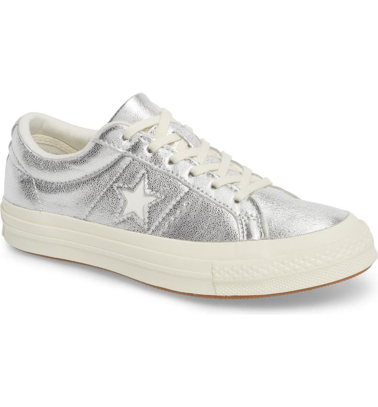 CONVERSE One Star Heavy Metal Low Top Sneaker, Main, color, 040