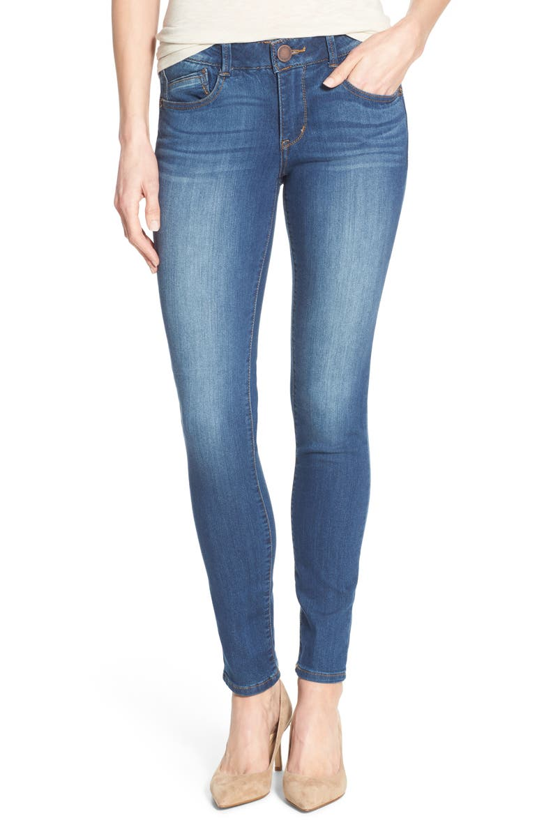 WIT & WISDOM Ab-Solution Stretch Skinny Jeans, Main, color, 421