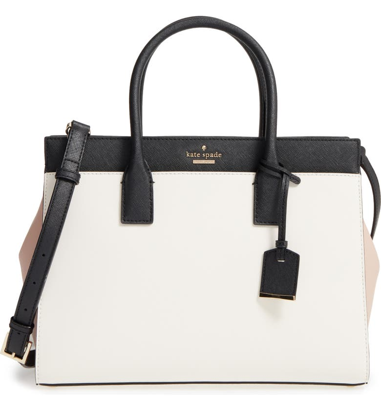 KATE SPADE NEW YORK cameron street - candace leather satchel, Main, color, 232