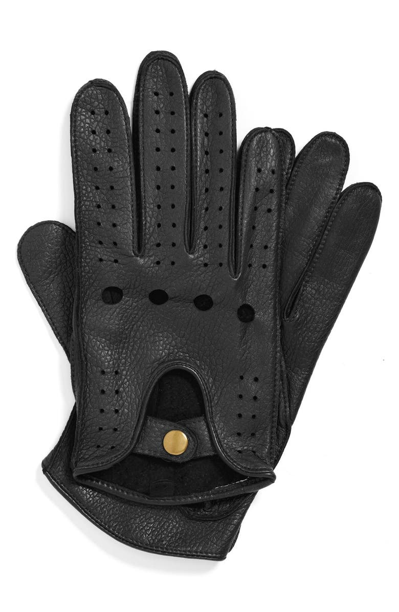 JOHN W. NORDSTROM<SUP>®</SUP> Leather Driving Gloves, Main, color, 001