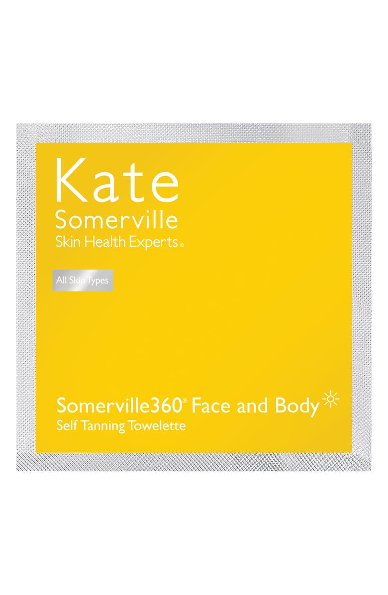 KATE SOMERVILLE<SUP>®</SUP> Somerville360° Tanning Towelettes, Main, color, 000