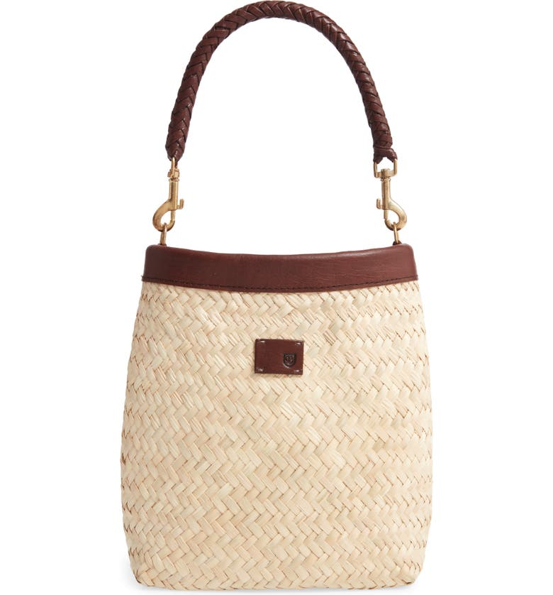 BRIXTON Layla Woven Top Handle Bag, Main, color, 250