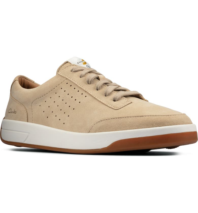 CLARKS<SUP>®</SUP> Hero Air Sneaker, Main, color, TAUPE SUEDE