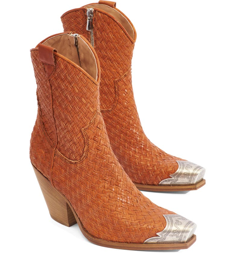 FREE PEOPLE Brayden Western Boot, Main, color, TAN LEATHER
