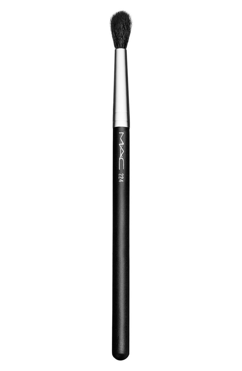 MAC COSMETICS MAC 224 Tapered Blending Brush, Main, color, 000