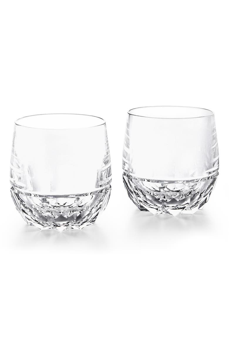 RALPH LAUREN Monroe Set of 2 Lead Crystal Double Old Fashioned Glasses, Main, color, 102