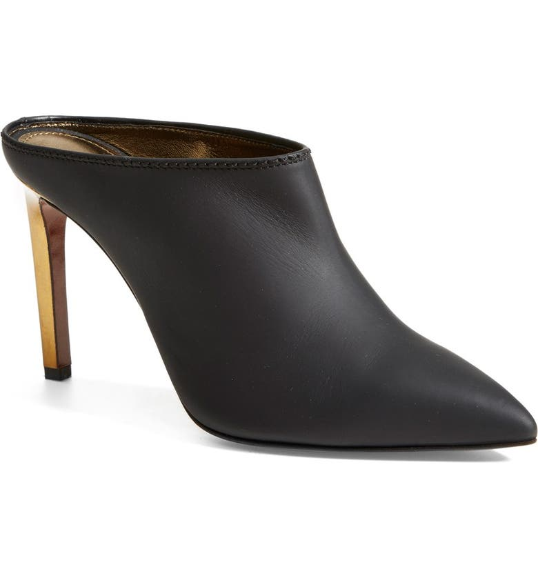 LANVIN Pointy Toe Mule, Main, color, 001