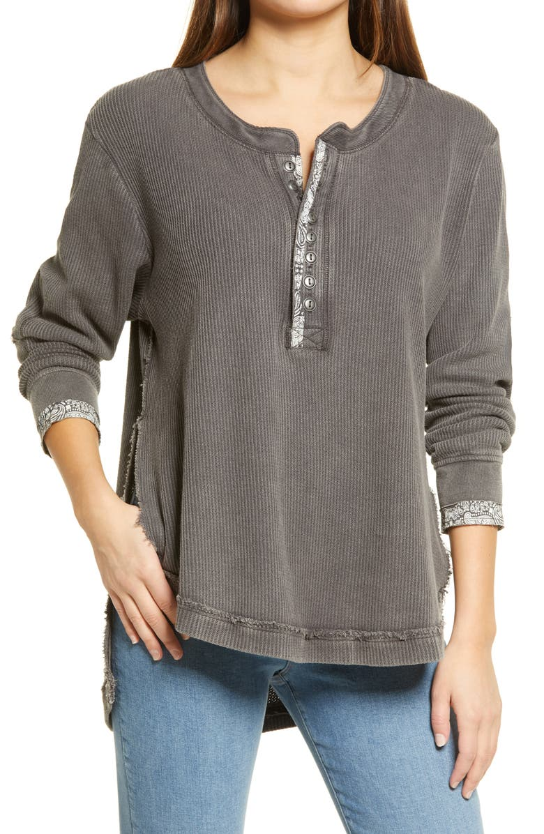 FREE PEOPLE Fall For You Henley, Main, color, 020