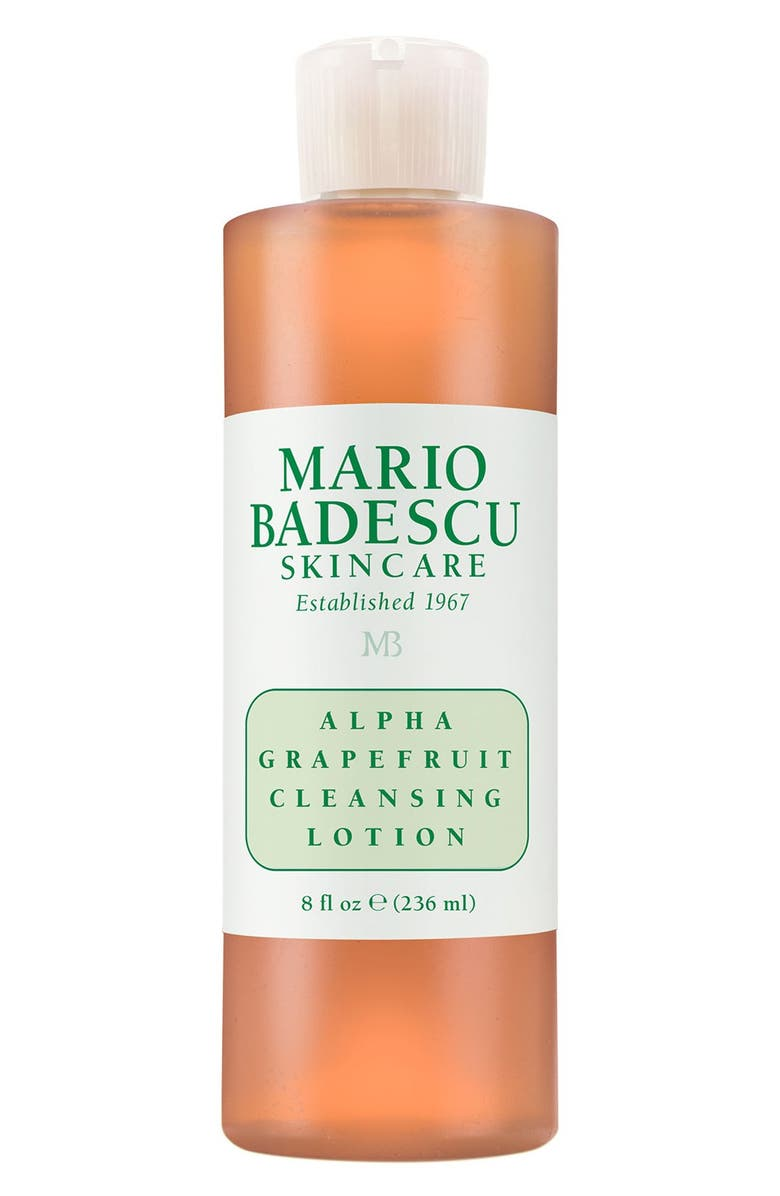 MARIO BADESCU 'Alpha Grapefruit' Cleansing Lotion, Main, color, No Color