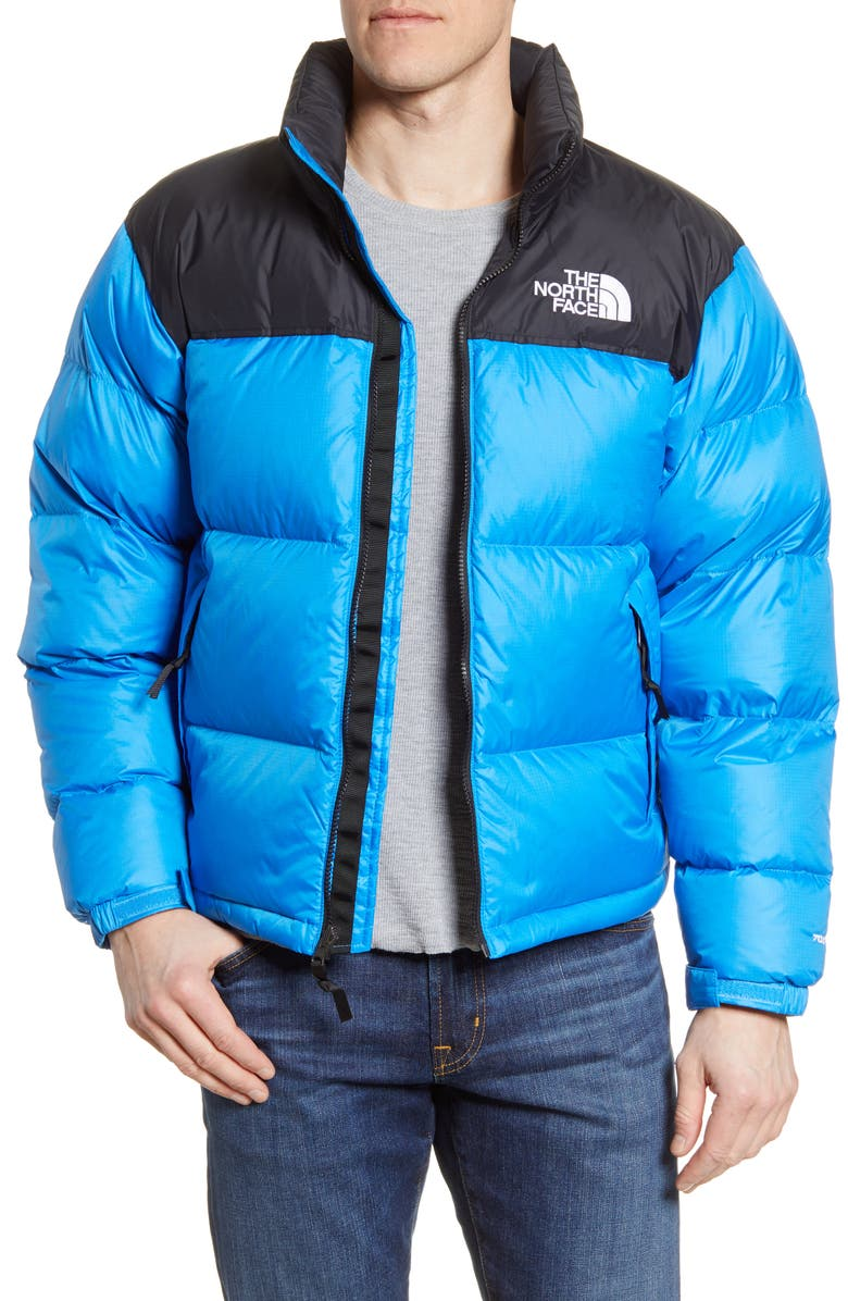 THE NORTH FACE Nuptse 1996 Packable Quilted Down Jacket, Main, color, CLEAR LAKE BLUE