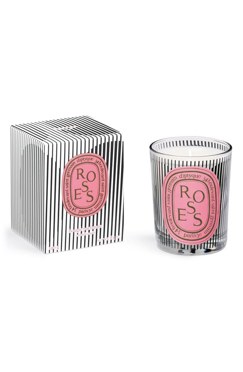 DIPTYQUE Roses Candle, Main, color, 000