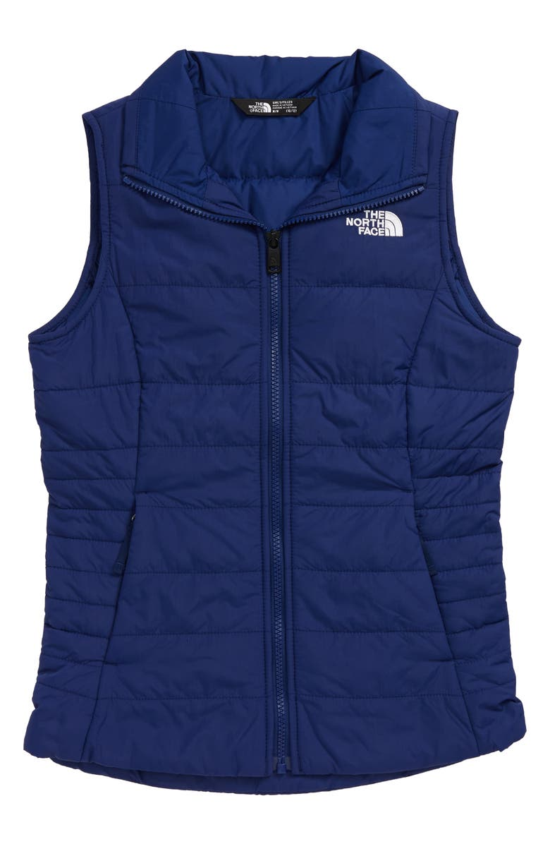 THE NORTH FACE Kids' Harway Insulated Vest, Main, color, FLAG BLUE