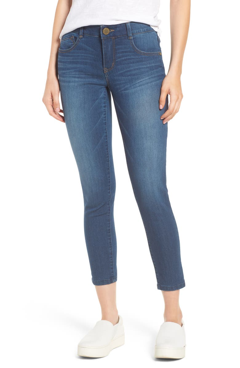 WIT & WISDOM Ab-Solution Ankle Skimmer Jeans, Main, color, 420