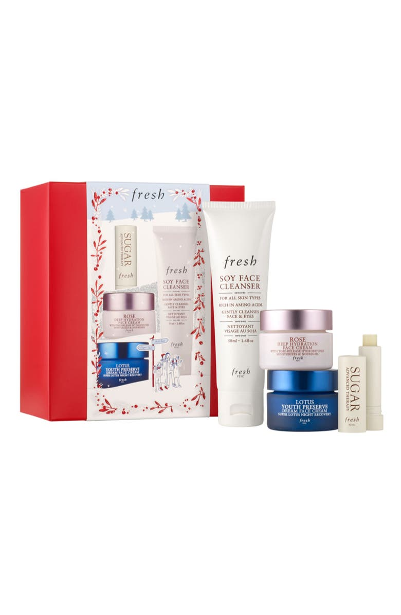 FRESH<SUP>®</SUP> Travel Size Skin Care Essentials Set, Main, color, 000