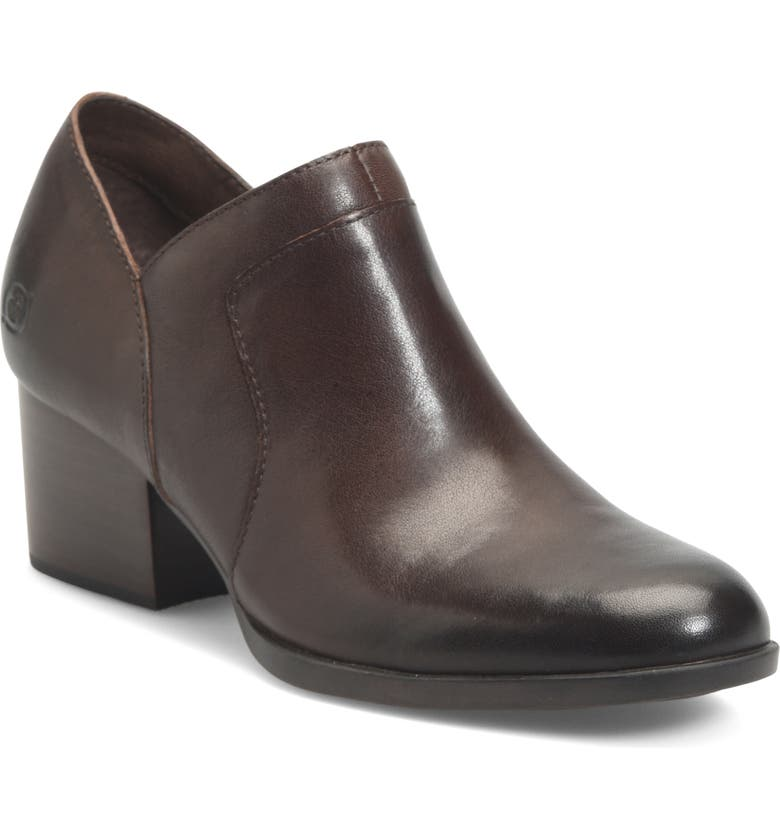 BØRN Caley Bootie, Main, color, BROWN LEATHER
