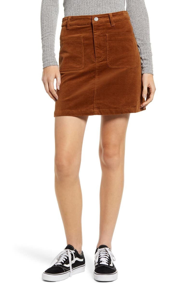 BP. Corduroy Miniskirt, Main, color, 210