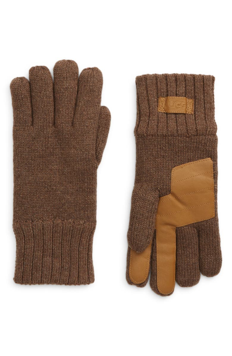 UGG<SUP>®</SUP> Wool Blend Knit Tech Gloves, Main, color, 251