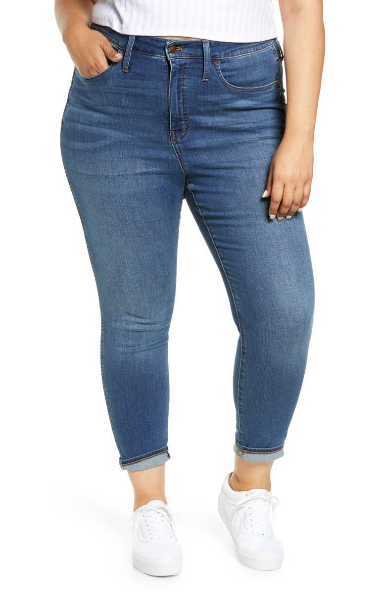MADEWELL High Rise Roadtripper Supersoft Jeans, Main, color, PLAYFORD