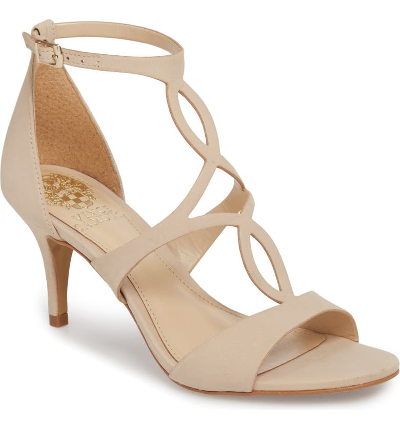 VINCE CAMUTO Payto Sandal, Main, color, NUDE LEATHER