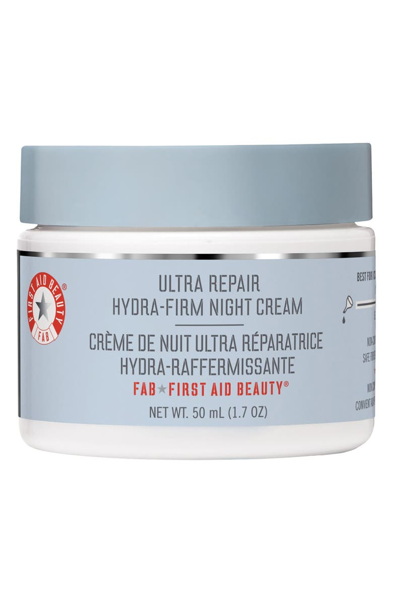 FIRST AID BEAUTY Ultra Repair Hydra-Firm Night Cream, Main, color, 000