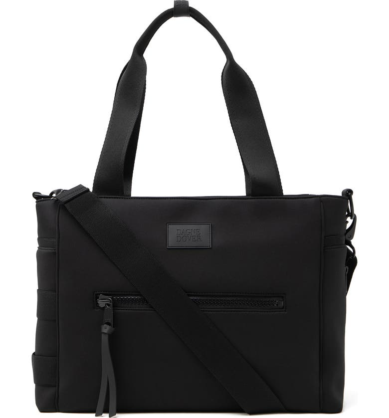 DAGNE DOVER Large Wade Diaper Tote, Main, color, ONYX