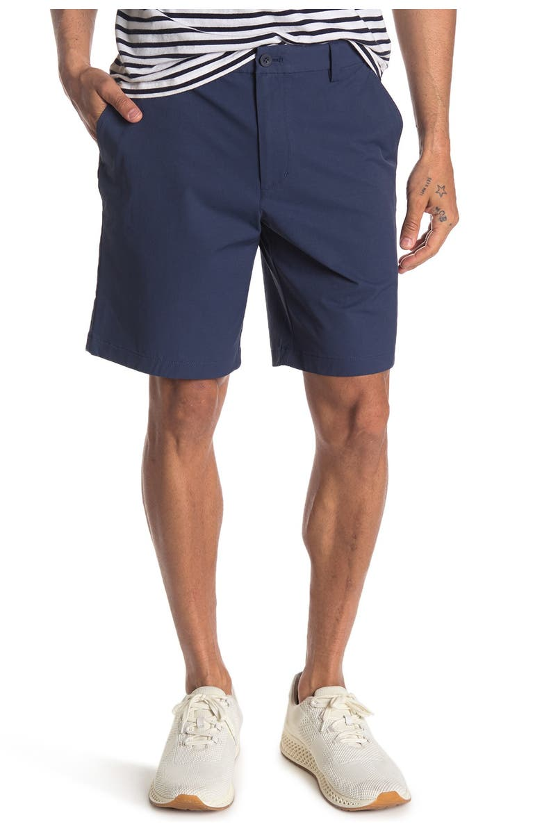 VINEYARD VINES On-The-Go Waterproof Performance Shorts, Main, color, BLUE BLAZER