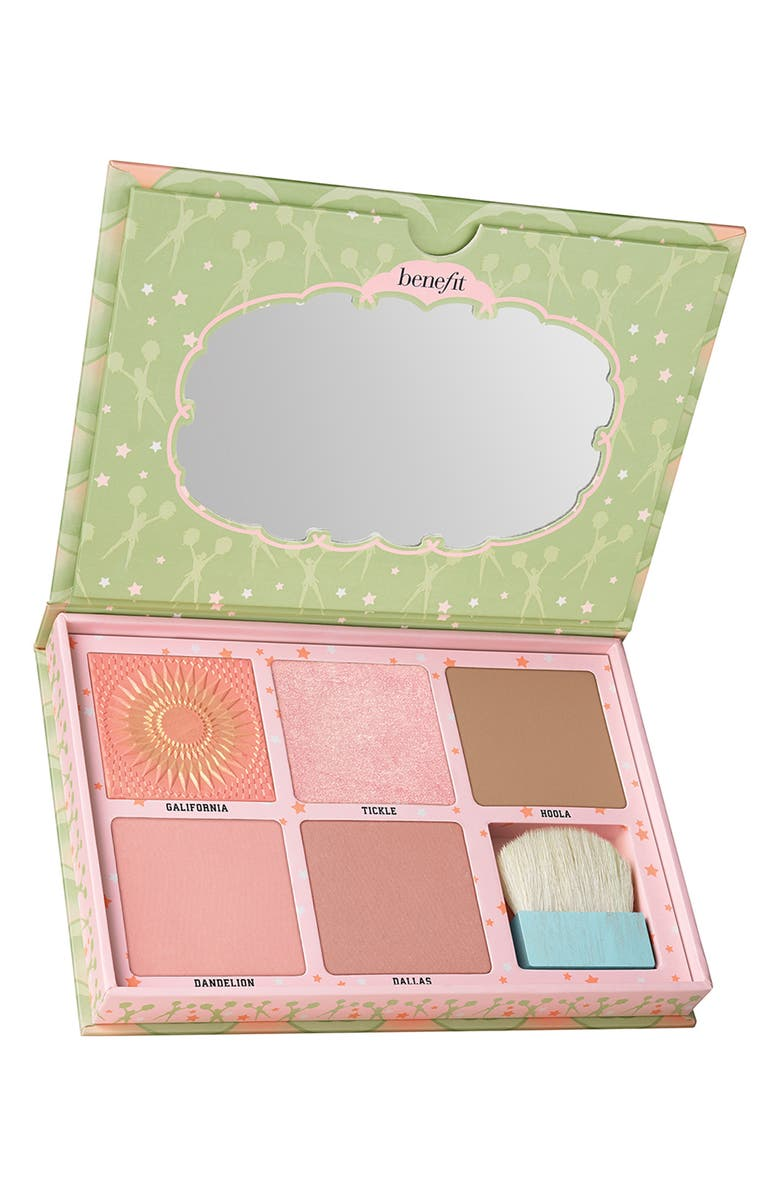 BENEFIT COSMETICS Benefit Cheekleaders Pink Squad Cheek Palette, Main, color, 000