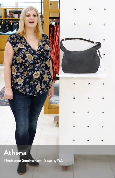 Michelle Nubuck Leather Hobo, sales video thumbnail