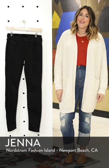'The Looker' Mid Rise Skinny Jeans, sales video thumbnail