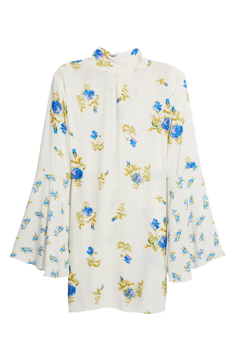 FREE PEOPLE Tate Floral Tunic Top, Main, color, 001