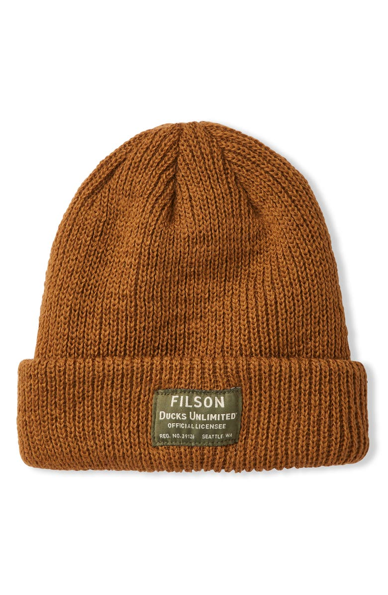 FILSON Ducks Unlimited Watch Cap, Main, color, 200