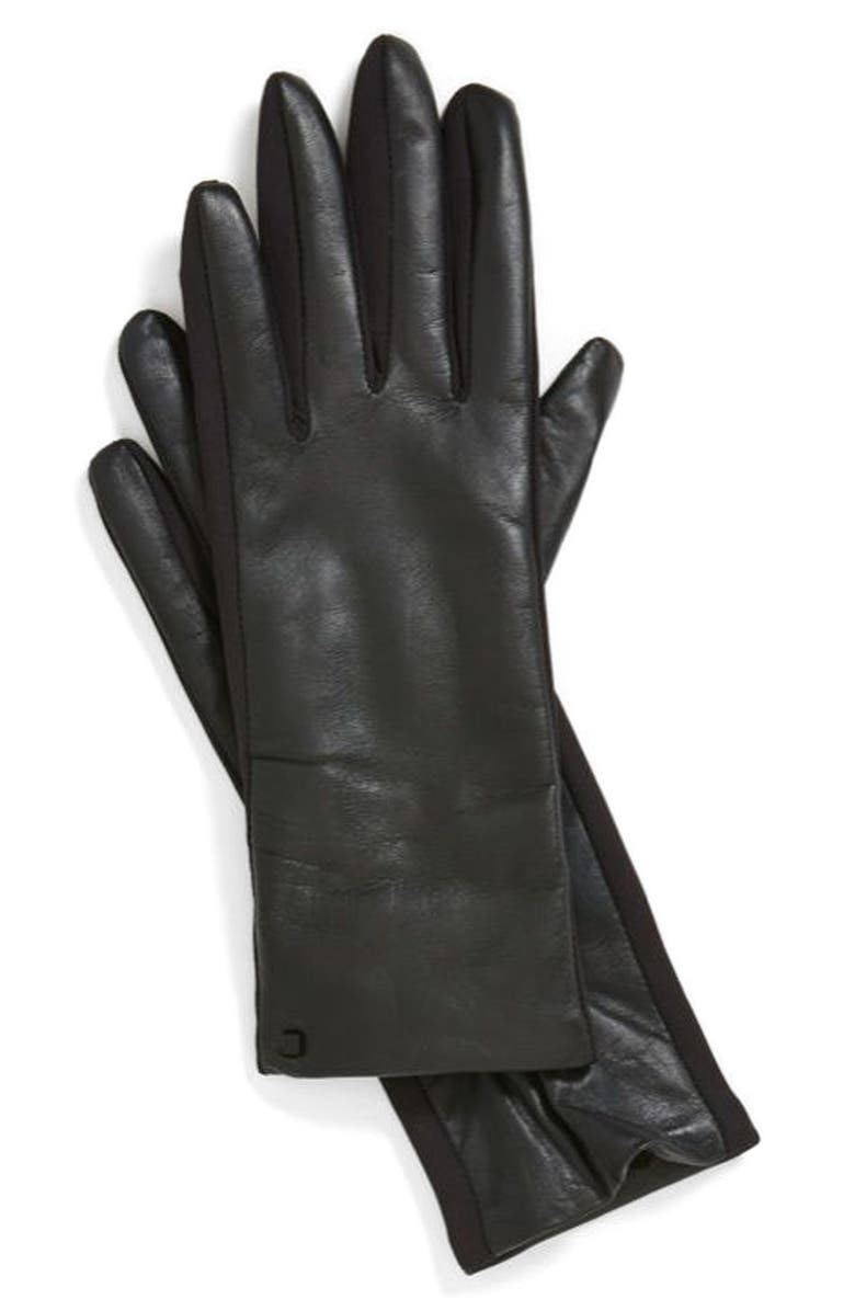 U|R Leather Tech Gloves, Main, color, 001