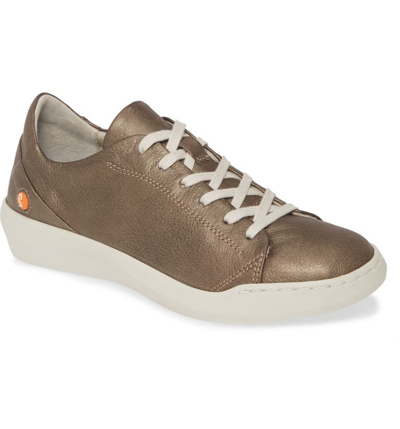 SOFTINOS BY FLY LONDON Bauk Sneaker, Main, color, GREY LEATHER