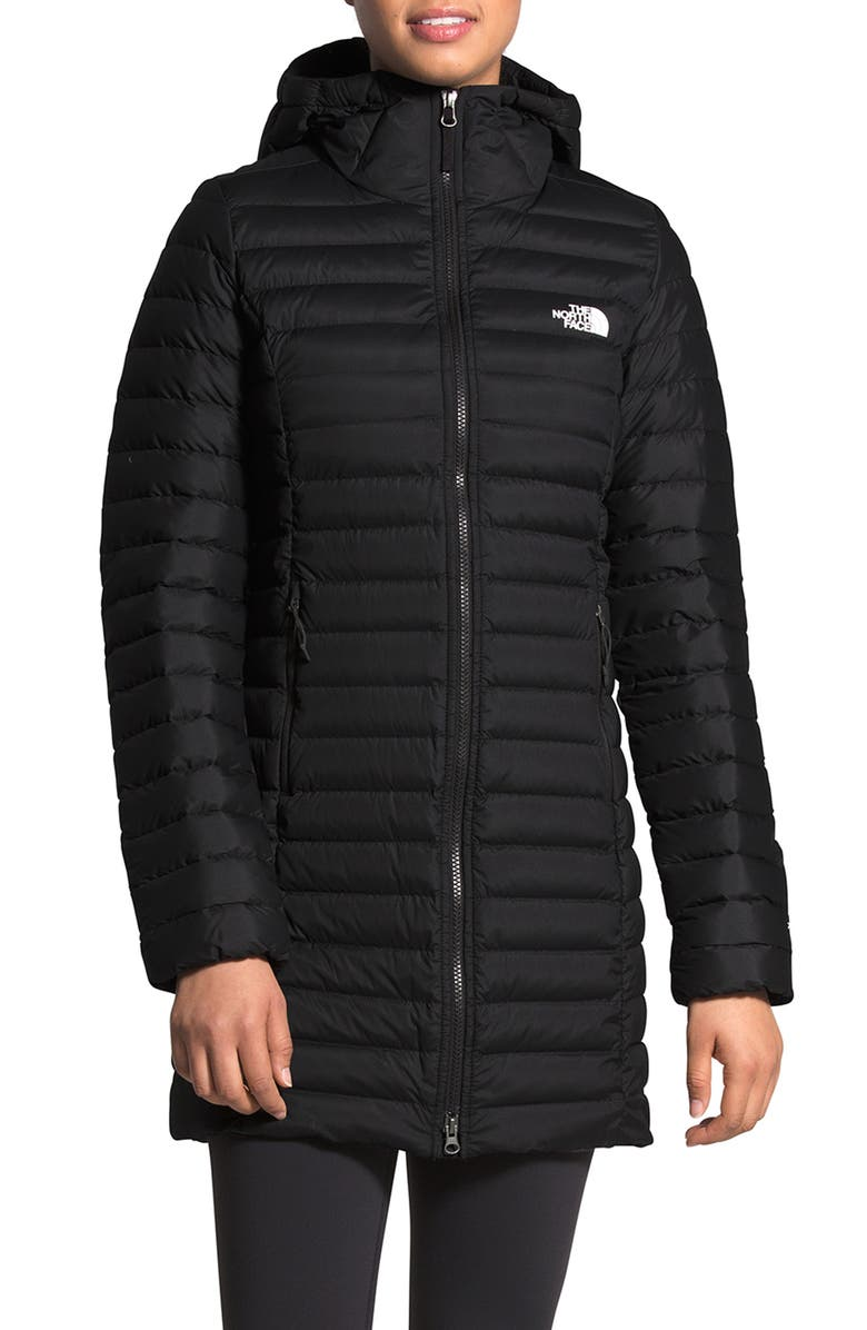 THE NORTH FACE 700 Fill Power Stretch Down Parka, Main, color, 001