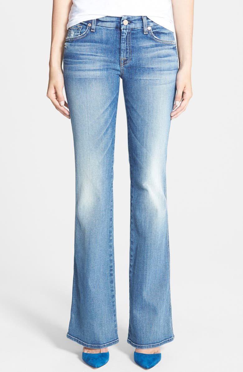 7 FOR ALL MANKIND <sup>®</sup> A-Pocket Flare Jeans, Main, color, 400