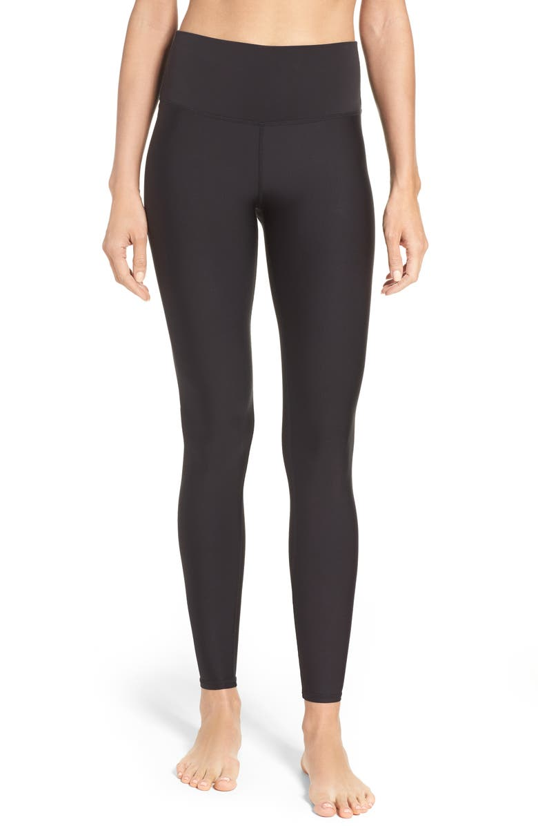 ALO Airlift High Waist Leggings, Main, color, BLACK