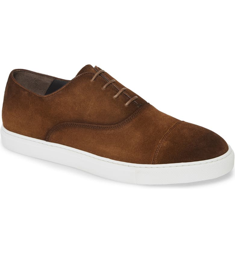 TO BOOT NEW YORK Eugene Oxford Sneaker, Main, color, BROWN
