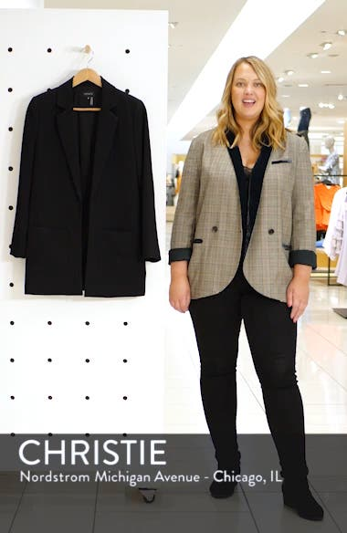 Textured Crepe Blazer, sales video thumbnail