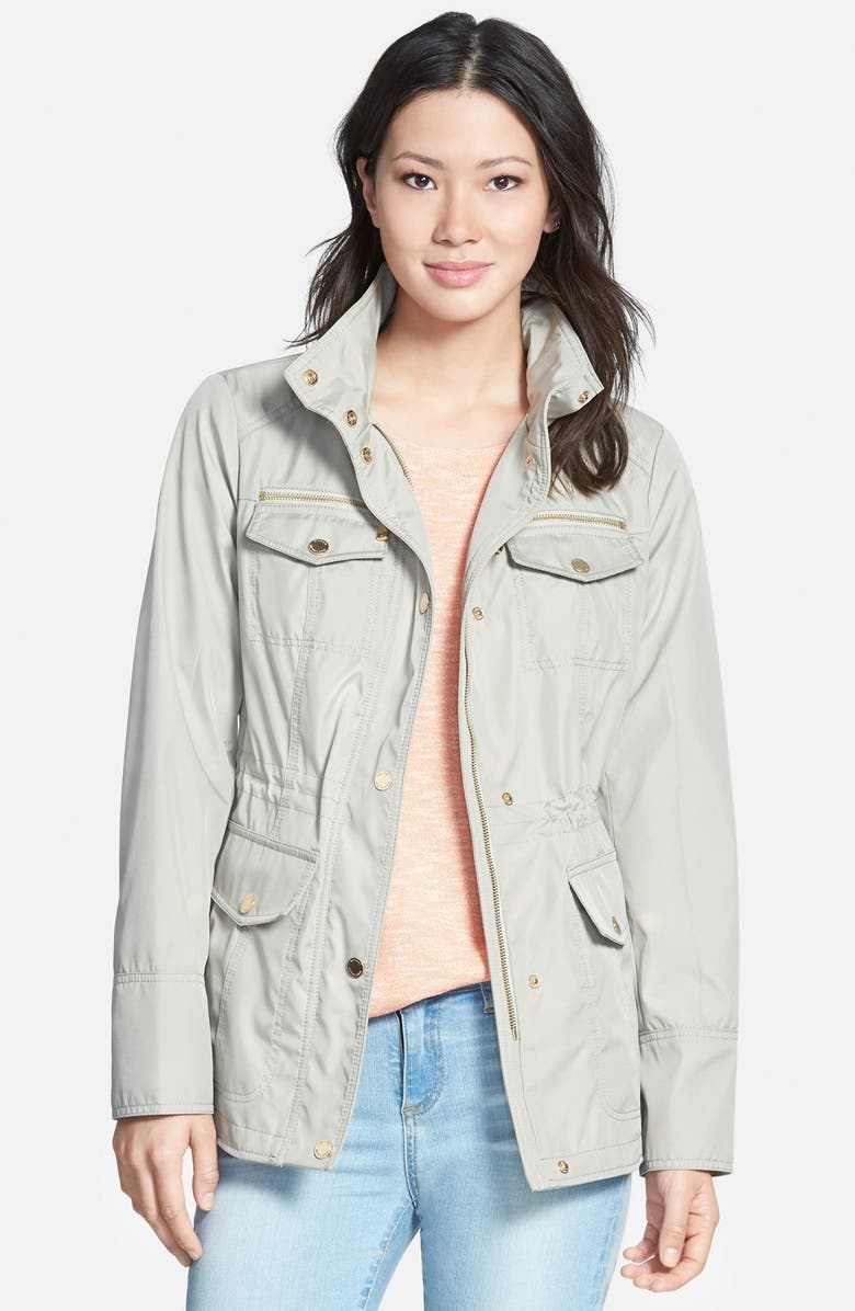 MICHAEL MICHAEL KORS Four Pocket Anorak, Main, color, 200